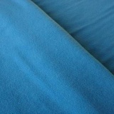 fleece stof aqua