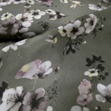 hellebore olive polyester peach